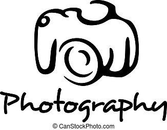 写真撮影, カメラ, 紋章