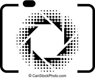 写真撮影, ロゴ