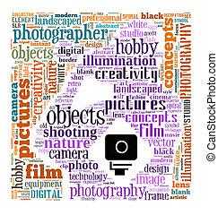 写真撮影, 概念, info-text
