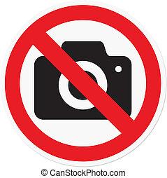 写真撮影, 禁止された