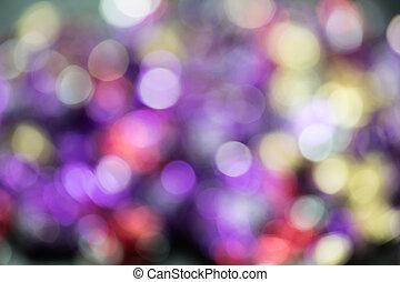 写真, の, ライトに色を塗りなさい, ∥で∥, 自然, bokeh