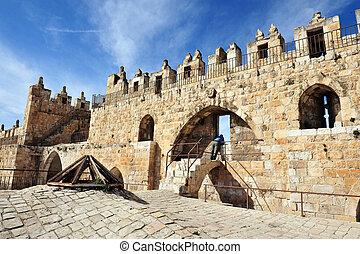 写真, イスラエル, エルサレム, -, 旅行