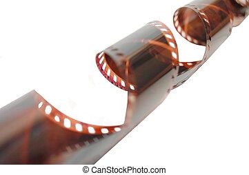 写真, 白, 古い, フィルム, 背景