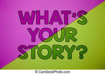 写真, 誰か, メッセージ, あなたの, ライム, ピンク, 物語, 執筆, 請求, 概念, ある何が, 彼自身, ビジネス, 提示, question., 手, 重要, 背景, information., 考え, 私, について, 言いなさい, showcasing