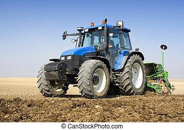 农业, -, 拖拉机