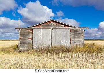 农场建筑物, 老
