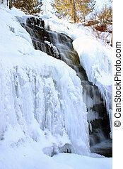 冬天, 瀑布