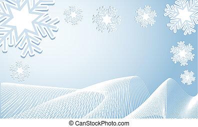 冬天, 背景