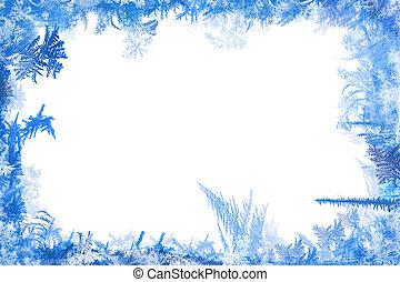 冬天, 邊框