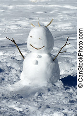 冬天, 雪人