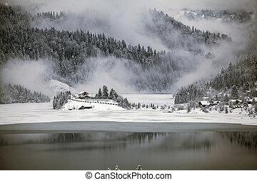 冬季, 湖