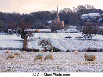 冬季, cotswolds