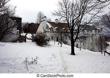 冬, ケベック
