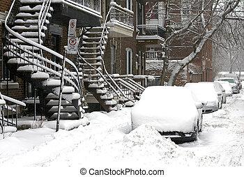 冬, モントリオール