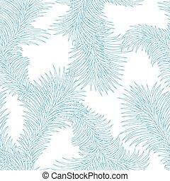 冬, 抽象的, 霜, pattern., seamless, 氷, 手ざわり