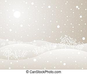 冬, 生け垣