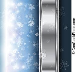 冬, 背景, クリスマス