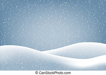 冬, 背景