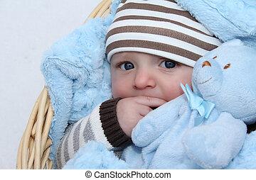 冬, 赤ん坊