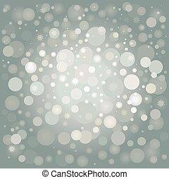 冬, 銀, 背景