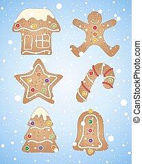 冬, gingerbread