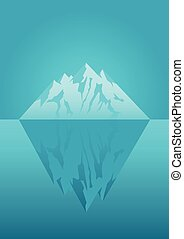 冰山, 插圖