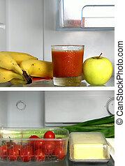 冰箱, 產品, 健康, 生活