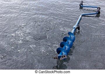 冰, 螺旋轉