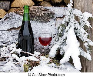 冷えた, 赤ワイン