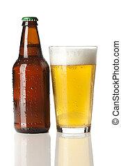 冷たいビール, 氷, すがすがしい