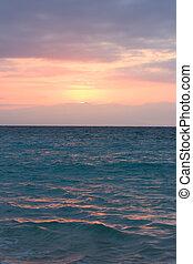 冷静, 日の出, 海洋