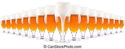 凍りつくほどである, 新たに, ビール, コレクション, ∥で∥, 泡, 隔離された
