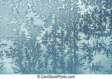 凍りつくほどである, 森林