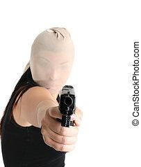 凶器持ち強盗