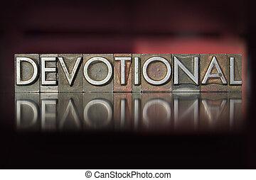 凸版印刷, devotional