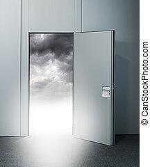 出口, 天国, ドア