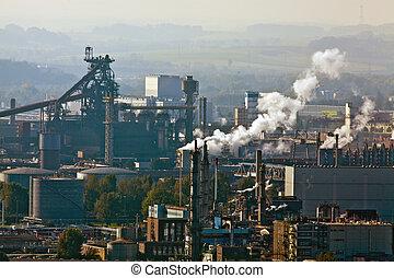出口, 産業, 金属