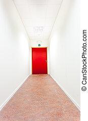 出口, 走廊, 緊急事件