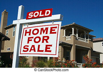 出售, 家, 待售簽名