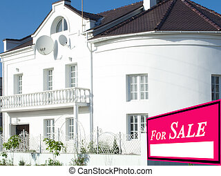 出售, 家, 待售, 房地產 標誌