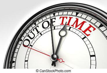出於時間, 概念, 鐘