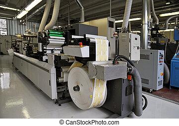 出版物, 産業, 印刷, printshop:, flexo