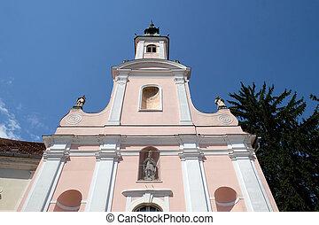 出生, 修道女, 熱心, croatia, イエス・キリスト, ursulines, 修道院, varazdin, 教会
