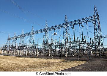 出産, エネルギー, 電気である, システム, &