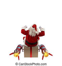 出産, 贈り物, クリスマス, 速い