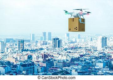 出産, 都市, 現代, 無人機