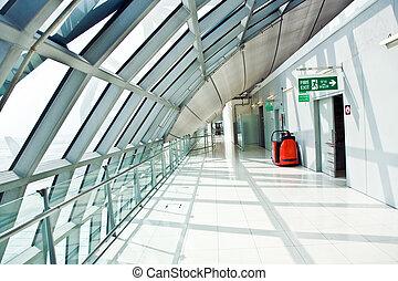 出発ホール, 門, 空港, 新しい