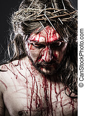 出血, calvary, イエス・キリスト, 代表, 情熱, 人