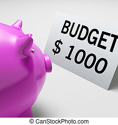 出費, ドル, 予算, 節約, コスト, ショー