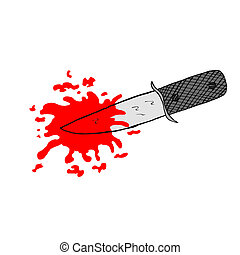 刀, 以及, 血液